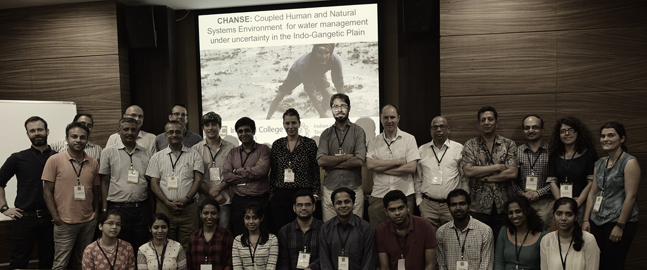 CHANSE Kick Off Meeting at IIT-B, Mumbai on September 2016