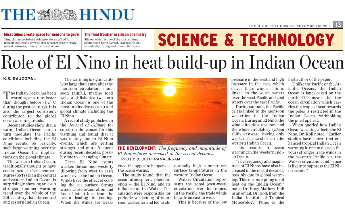 indian ocean warming the bigger picture climate research
