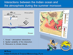 lecture on sst-precipitation relationship over the monsoon basins